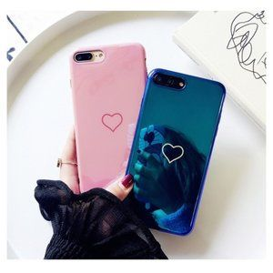 BOGO 50%off - iPhone X/XS/7/8/7+/8+ HEART Case